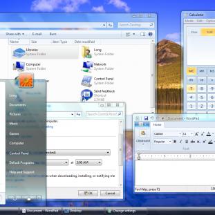 L'interface graphique fenêtrée : depuis la naissance de Windows, la GUI n'a pas énormément évolué