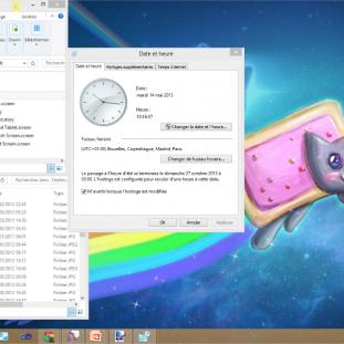 L'interface graphique fenêtrée de Windows 8 : derrière le design Modern UI se dévoile une GUI Windows très classique