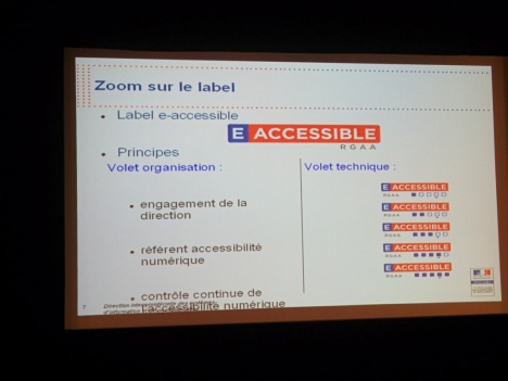 Label e-accessible