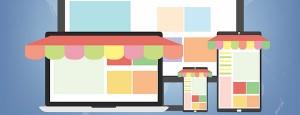 Concept de boutique en ligne avec de multiples plugins, compatible avec plusieurs appareils mobiles, tablettes, ordinateurs portables ou non…