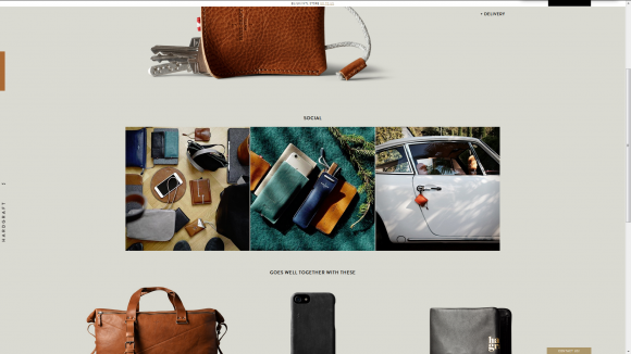 user experience ecommerce hardgraft