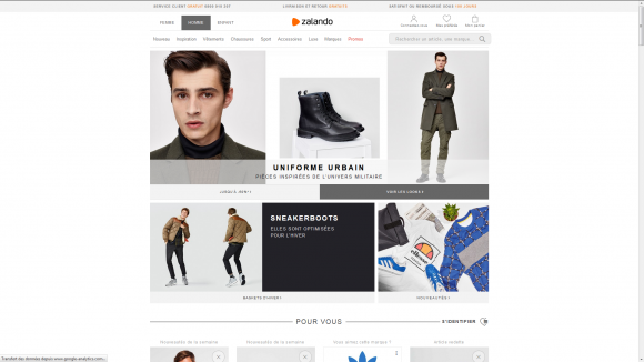 user experience ecommerce zalando