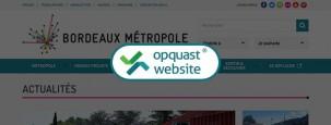 Bordeaux Metropole Opquast Website