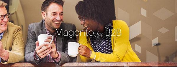 Magento goes B2B