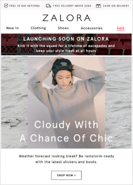 Marketing Automation Zalora