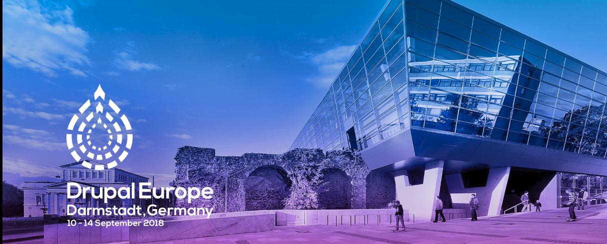 image Drupal Europe 2018