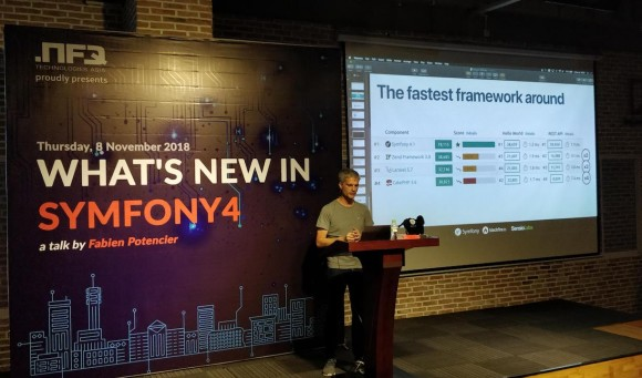 Photo of Symfony 4 event
